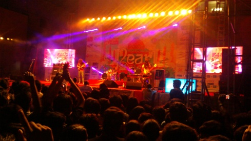 Wolfmother at BITS, Hyderabad