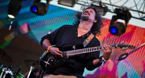 Baiju Dharmajan bends some strings