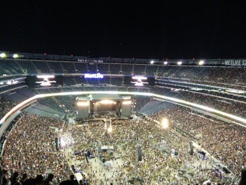 The 80000 capacity MetLife stadium