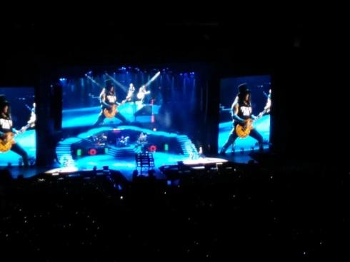 Slash and his Les Paul